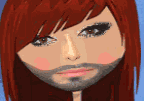 Conchita Wurst Dress Up Game