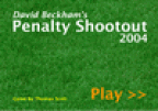 David Beckam Penalty Shootout 2004