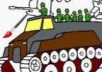 Military Squad Coloring