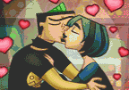 Total Drama Twister Kiss
